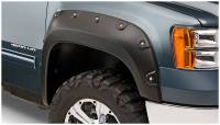 Bushwacker - Bushwacker Boss™ Pocket Style® Fender Flares - Front 2014-2012 GMC Sierra 2500 HD 40109-02