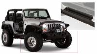 Bushwacker - Bushwacker TrailArmor™ Rocker Panel 2007-2017 Jeep Wrangler 14011
