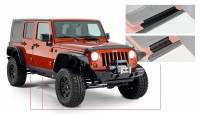 Bushwacker - Bushwacker TrailArmor™ Rocker Panel 2007-2017 Jeep Wrangler 14012