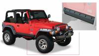Bushwacker - Bushwacker TrailArmor™ Rocker Panel 2004-2003 Jeep Wrangler 14008