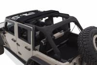 Bushwacker - Bushwacker TrailArmor™ Twill Fast Back Soft Top 2016-2017 Jeep Wrangler 14925